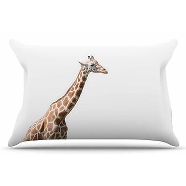 East Urban Home Giraffe by Sylvia Coomes Pillow Sham; King