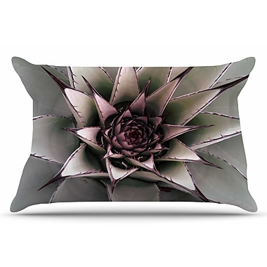 East Urban Home Succulent by Suzanne Carter Pillow Sham; King