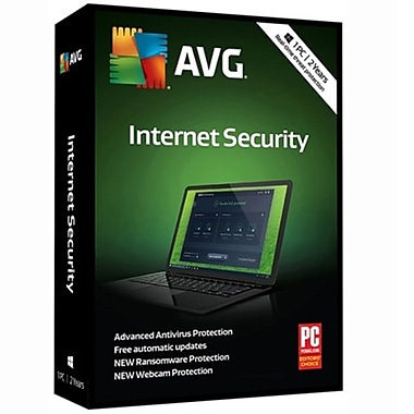 AVG - Internet Security 2018, 1 utilisateur pour 2 ans [Téléchargement]