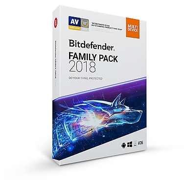 Bitdefender Family Pack 2018, Unlimited Users, 2 Year [Download]