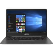 Asus Zenbook UX430UA-RH31-CB 14-inch Notebook, 2.4 GHz Intel Core i3-7100U, 128 GB SSD, 8 GB DDR4, Windows 10 (64-bit)