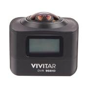 Vivitar – Caméra d'action 360º DVR968HD-BLK-FR, noir