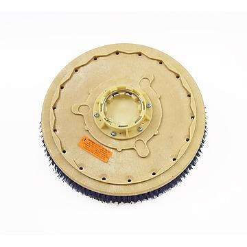 "Malish 17"" Clean-Grit™ Gen. Scrub Grit Br w/G100 Gimbal for Clarke Focus II 34 Disc Walk Behind & Rider Scrubbers (YS816517G100)"