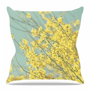 East Urban Home Blooms by Sylvia Coomes Throw Pillow; 18'' H x 18'' W x 4'' D