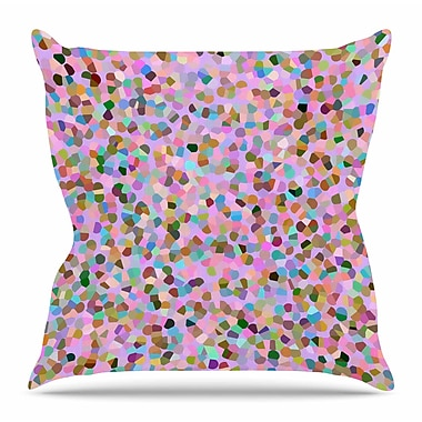 East Urban Home Candy Confetti by Vasare Nar Throw Pillow; 18'' H x 18'' W x 4'' D