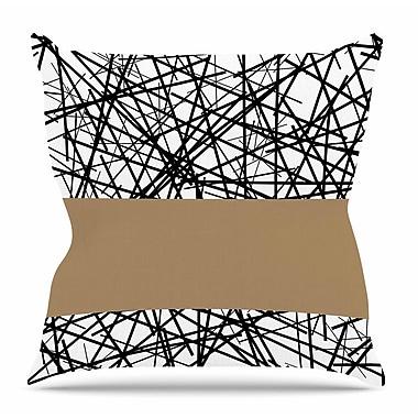 East Urban Home Kava by Trebam Throw Pillow; 26'' H x 26'' W x 4'' D