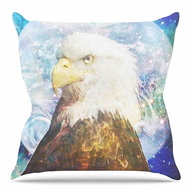 East Urban Home Space Cadet2 by Suzanne Carter Throw Pillow; 20'' H x 20'' W x 4'' D