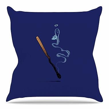 East Urban Home Matches by BarmalisiRTB Throw Pillow; 18'' H x 18'' W x 4'' D