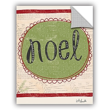 The Holiday Aisle Noel Wall Mural; 10'' H x 8'' W x 0.1'' D