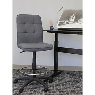 Latitude Run Linen Drafting Chair