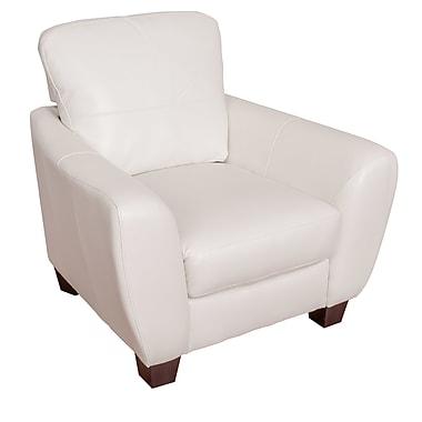 Latitude Run Lacy Armchair; White