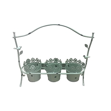 Jeco Inc. Avelin Metal Pot Planter