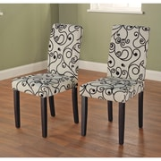 Latitude Run Neva Parson Chair (Set of 2)