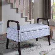 Latitude Run Cannon Upholstered Storage Bench