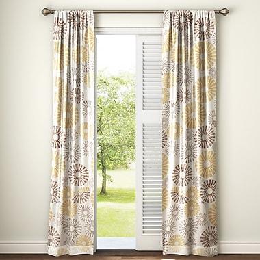 Latitude Run Totterdown Nature / Floral Blackout Thermal Rod Pocket Curtain Panels (Set of 2)