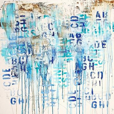Latitude Run Wade Chaos III Wall Mural; 14'' H x 14'' W x 0.1'' D