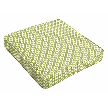 Latitude Run Indoor/Outdoor Dining Chair Cushion; 3'' H x 20'' W x 20'' D