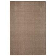 Latitude Run Bettie Hand-Tufted Dark Taupe Area Rug; 6' x 9'