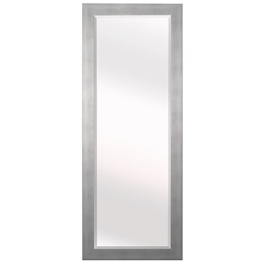 Latitude Run Wood Wall Mirror; 63.5'' H x 25.5'' W x 0.75'' D