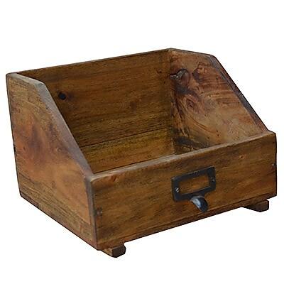 Loon Peak Sila 6.5'' H x 9.5'' W Book Box