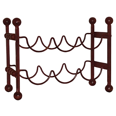 Loon Peak Cercis Horizontal 6 Bottle Floor Wine Rack