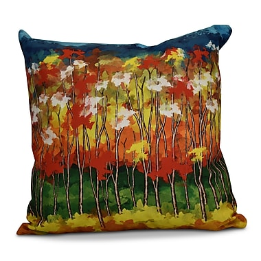 Loon Peak Brookfield Floral Outdoor Throw Pillow; 20'' H x 20'' W x 2'' D