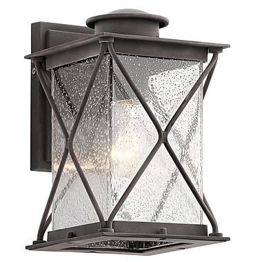 Loon Peak Kersey 1-Light Outdoor Wall Lantern; 10.25'' H x 6.5'' W