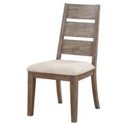Loon Peak Crane Side Chair w/ Upholstered Seat (Set of 2)