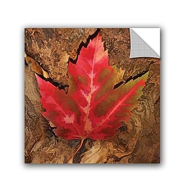 Loon Peak Fallen Leaf Wall Decal; 36'' H x 36'' W x 0.1'' D