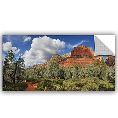 Loon Peak Hikers Paradise Wall Decal; 18'' H x 36'' W x 0.1'' D
