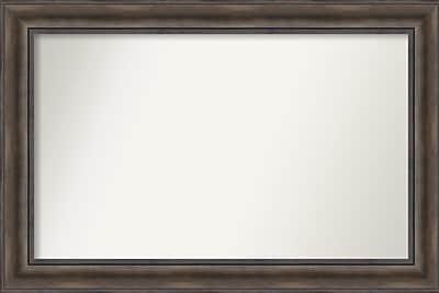 Loon Peak Rockwood Rustic Pine Wood Wall Mirror; 39'' H x 26'' W x 0.75'' D