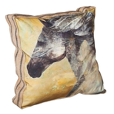 Loon Peak Englewood Into The Wind Throw Pillow