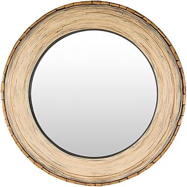 Loon Peak Round MDF Wall Mirror