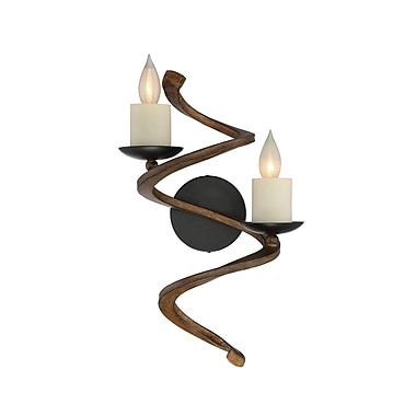 Loon Peak Shawnee 2-Light Wall Sconce