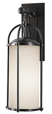 Loon Peak Hood 1-Light Outdoor Wall Lantern; 20.63'' H x 7.62'' W WYF078280885771