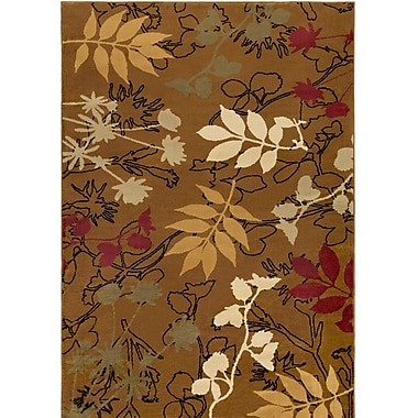 Loon Peak Amur Military Olive Area Rug; Rectangle 5'3'' x 7'6''