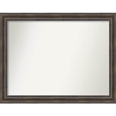 Loon Peak Rockwood Rustic Pine Wood Wall Mirror; 44'' H x 34'' W x 0.75'' D