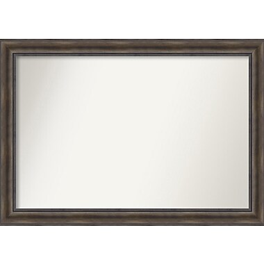 Loon Peak Rockwood Rustic Pine Wood Wall Mirror; 47'' H x 33'' W x 0.75'' D