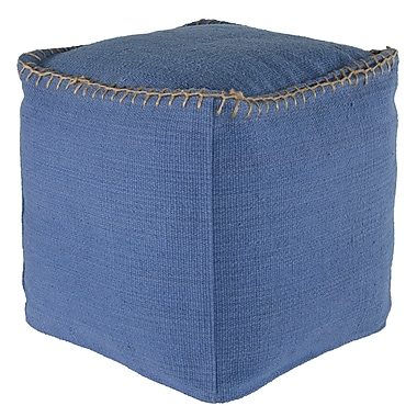 Loon Peak Beaumont Ottoman; Rust