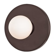 Mercer41 Welden 1-Light Wall Sconce; Old Bronze