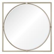 Mercer41 Square Silver Mirror
