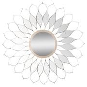 Mercer41 Skyler Gray Metal Mirror