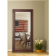 Loon Peak Country Pine Full Length Beveled Body Mirror; 69'' H x 28.5'' W x 0.75'' D
