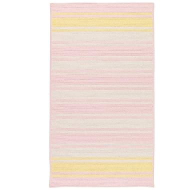 Latitude Run Caitlin Hand-Woven Pink Area Rug; 9' x 12'