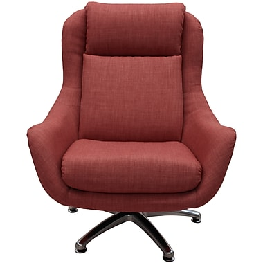 Latitude Run Linda Lounge Chair; Spice