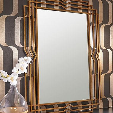Mercer41 Rectangle Metal Accent Wall Mirror