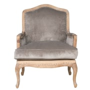 One Allium Way Guillotte Wood Armchair