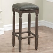One Allium Way Jeanlouis Backless 26'' Counter Stool