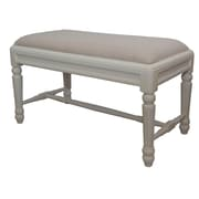 One Allium Way Rondeau Upholstered Bench