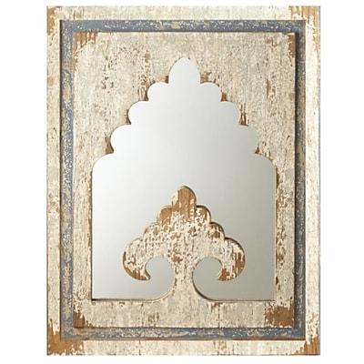 One Allium Way Casablanca Arch Wall Mirror
